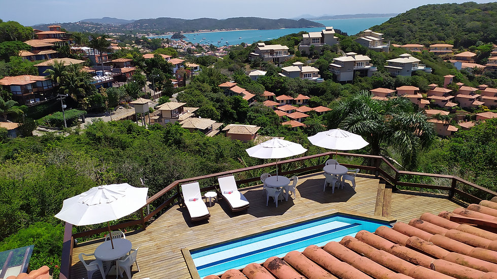 Master Suite vista balcone