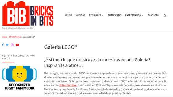 Bricks in Bits (online blog)