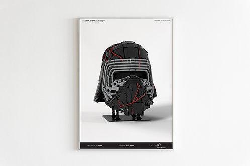 Kylo Ren A2 poster