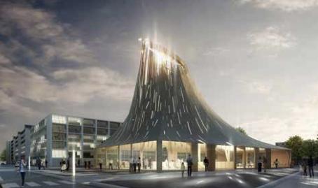 Gare de Clichy Montfermeil: faire jaillir la lumière des abymes