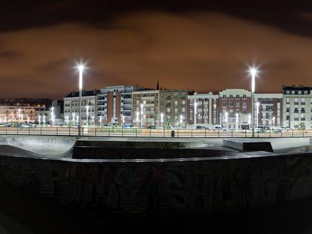 Cohérence du langage lumineux de la ville du Havre