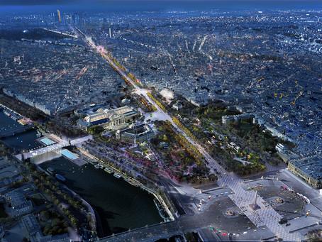Cohérence du langage lumineux des Champs Elysées