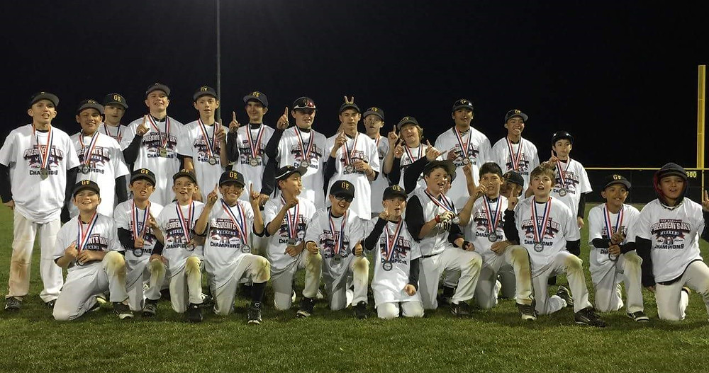 Golden Era 11U & 13U Championship Teams