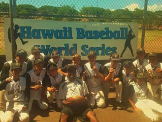 Hawaii World Series Champions!