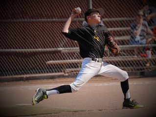 AIDAN PEARCE DOMINATES ON THE MOUND IN WIN OVER BULLDOGS