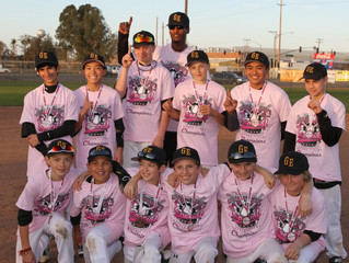 12U GE EAST BAY SELECT WIN PRESIDENT'S DAY TOURNAMENT CHAMPIONSHIP