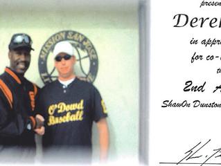 Derek Bell & Shawon Dunston Host Baseball Camp