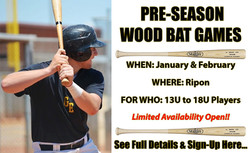 Pre-Season Wood Bat (2021)