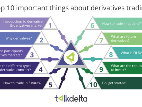 Top 10 important things you must know before you start derivatives trading