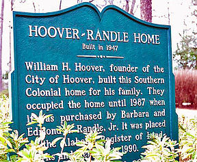 Historic home built by William Hoover