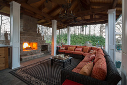 Exterior fireplace and patio wedding venue.jpg