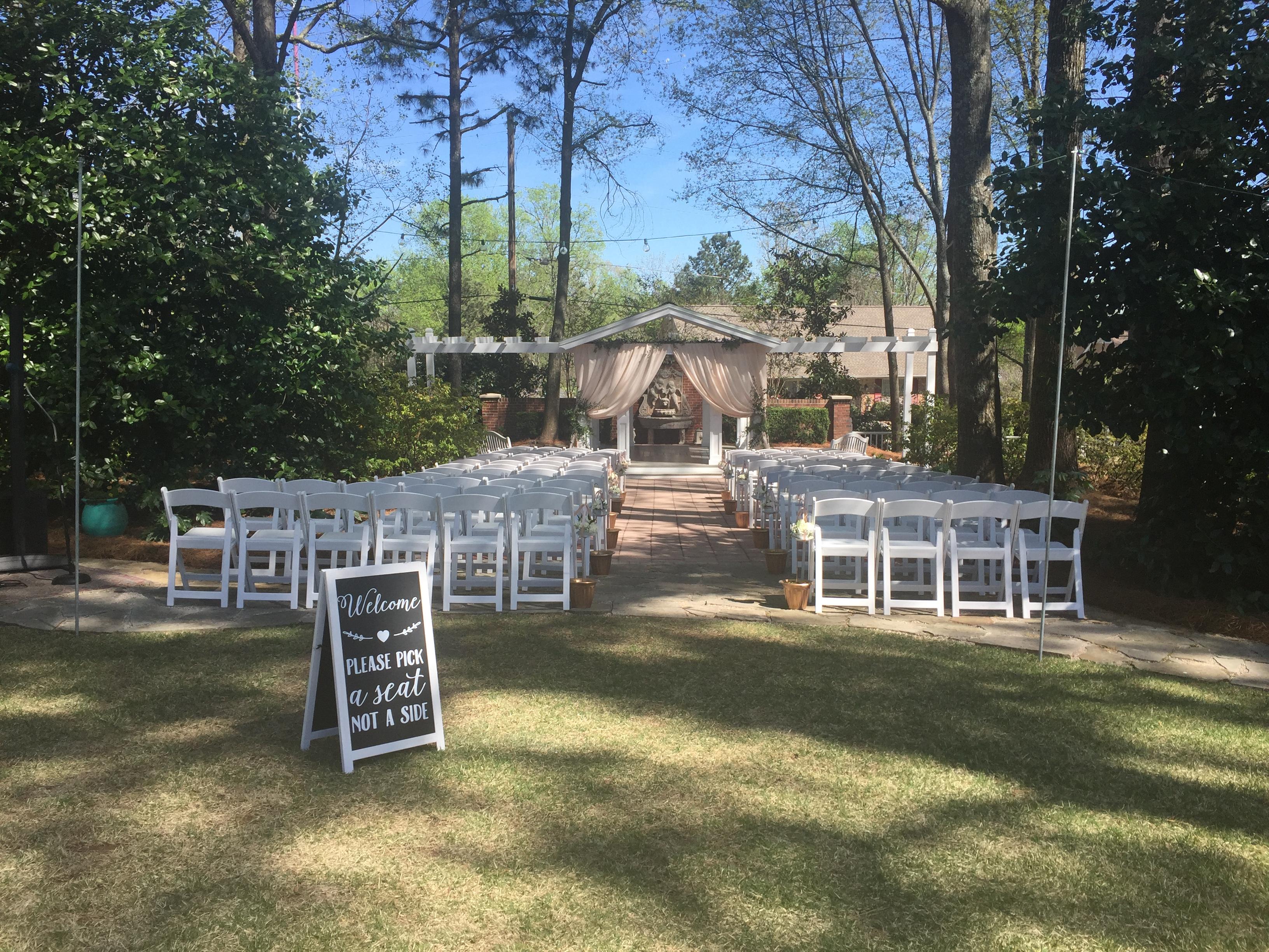 Wedding at the Gazebo
