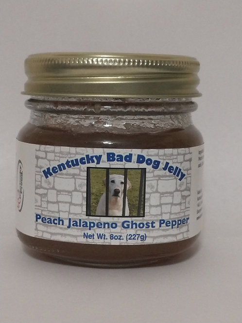 Peach Jalapeno Ghost Pepper