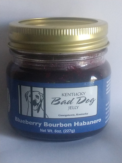 Blueberry Bourbon Habanero