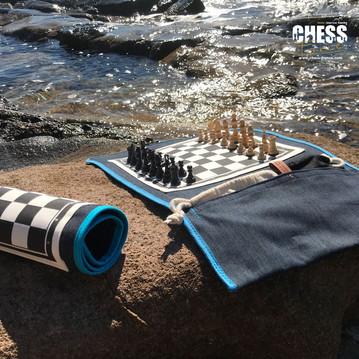 Échiquier | Chess France  | exterieur calanque
