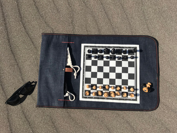 Echiquier - Jeu d'échecs de voyage