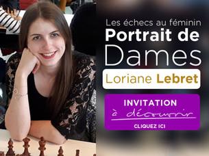 Portrait de Dames: Loriane Lebret