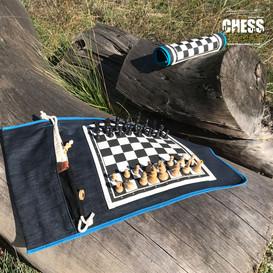 Échiquiers déplié et roulé | Chess France  | exterieur nature