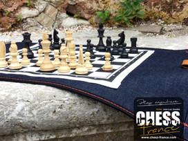 Jeu d'échecs  | CHESS France  | Banc de pierre