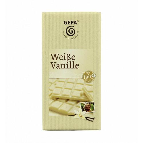 Weiße Vanille Schokolade (100 g)