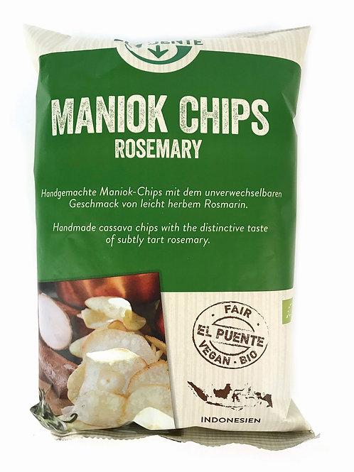 Maniok Chips Rosemary (klein) 30 g