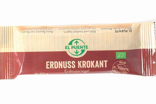 Erdnuss Krokant Erdnussriegel 30 g