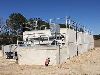 precast concrete oil water separator