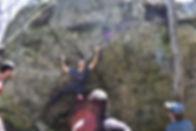 Bouldering at AOC