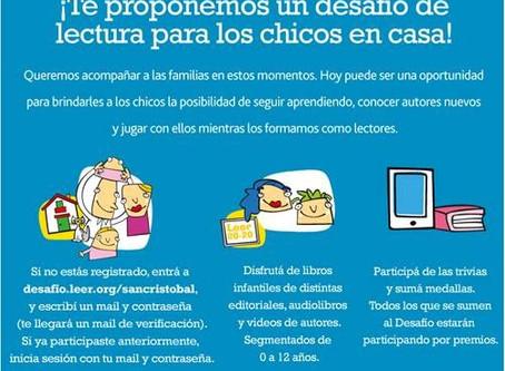 Lectura para nuestros chicos #Mequedoencasa   Mutual del Personal del Grupo San Cristóbal