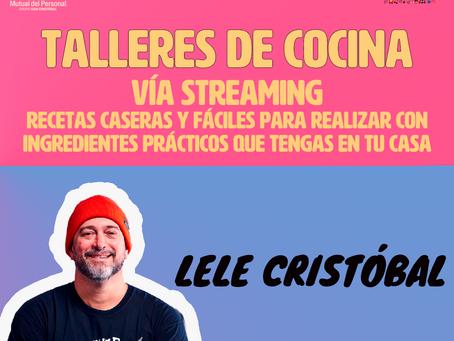 CLASE DE COCINA CON LELE - VÍA STREAMING