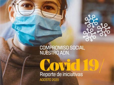 Reporte de iniciativas COVID-19