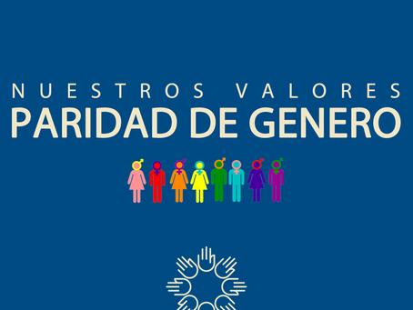 PARIDAD DE GENERO