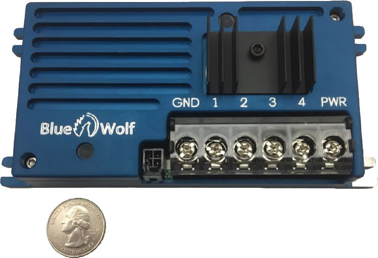 4 Channel remote dimming unit, perfect for NVG or NVIS Dimming situations along with regular light dimming too | Blue Wolf