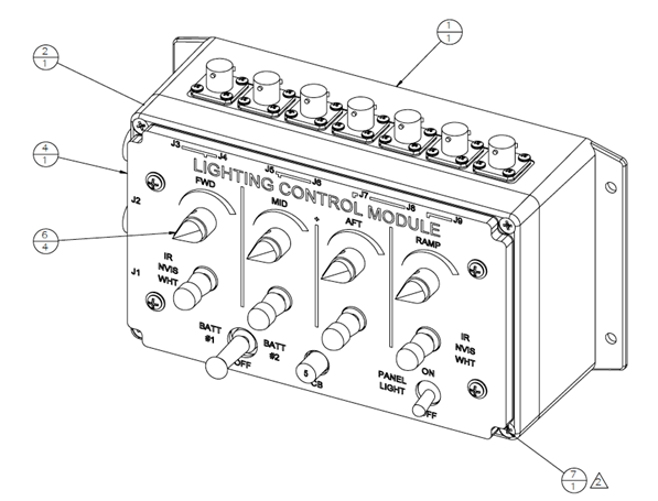 Expeditionary Lighting Kit - Lighting Control Module