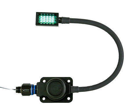 Heavy Duty Blue Wolf Map Light with MIL-DTL-D38999/20 Connector