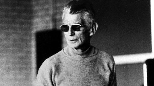 Семюель Бекет настільки засліплений красою українського абсурду, що одягнув сонцезахисні окуляри
