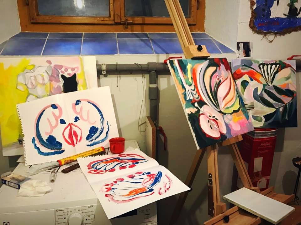 Martina Ambrož Home studio