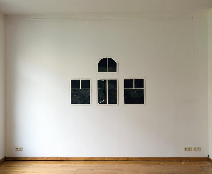 Quadriptyque Les cris de la vitre, photo