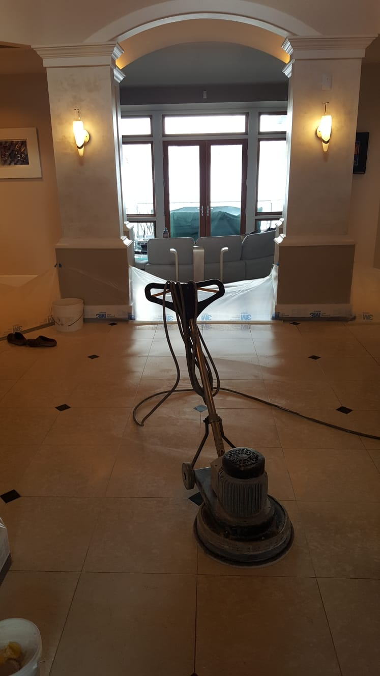 Marble & Grout Restoration