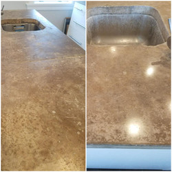Concrete Counter Tops Polished