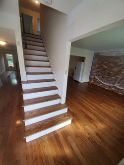 Hardwood Stairs Installation