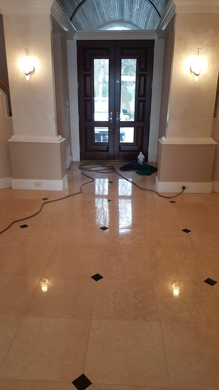 Foyer & Entrance Polishing