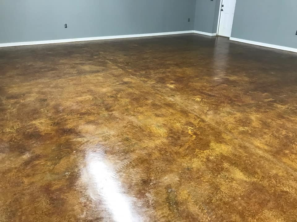 Concrete Stain and Seal