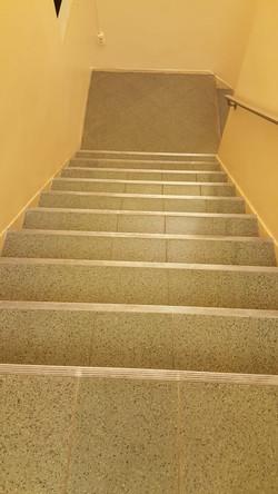 Terrazzo Stairs Polishing