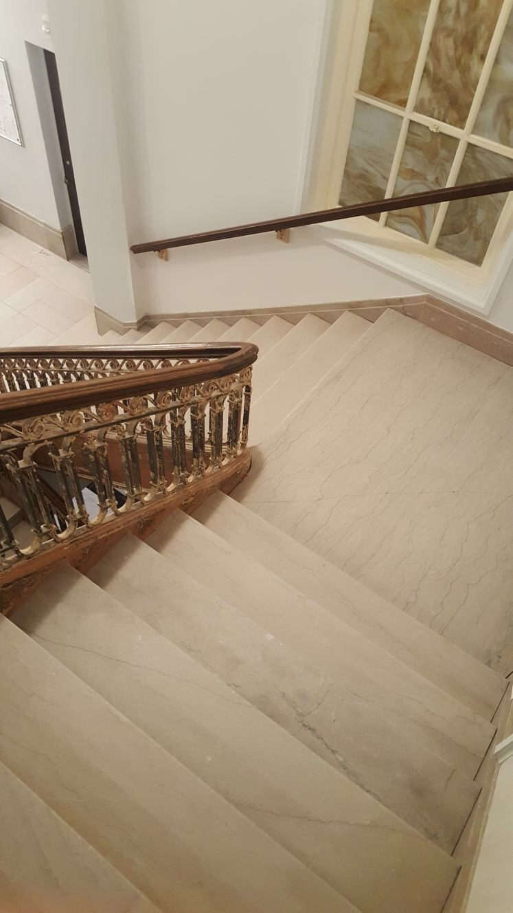 Marble Stairs Polishing