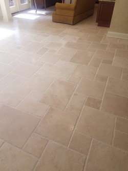 Travertine Polishing