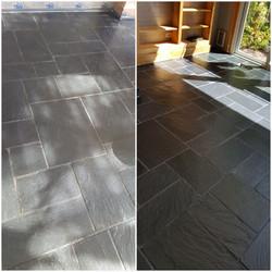 Slate Floor Strip & Seal