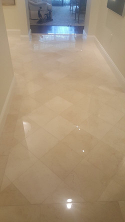 Marble Polish & Grout Clean