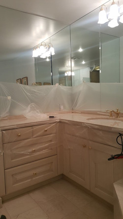 Counter Tops and Walls Restoration
