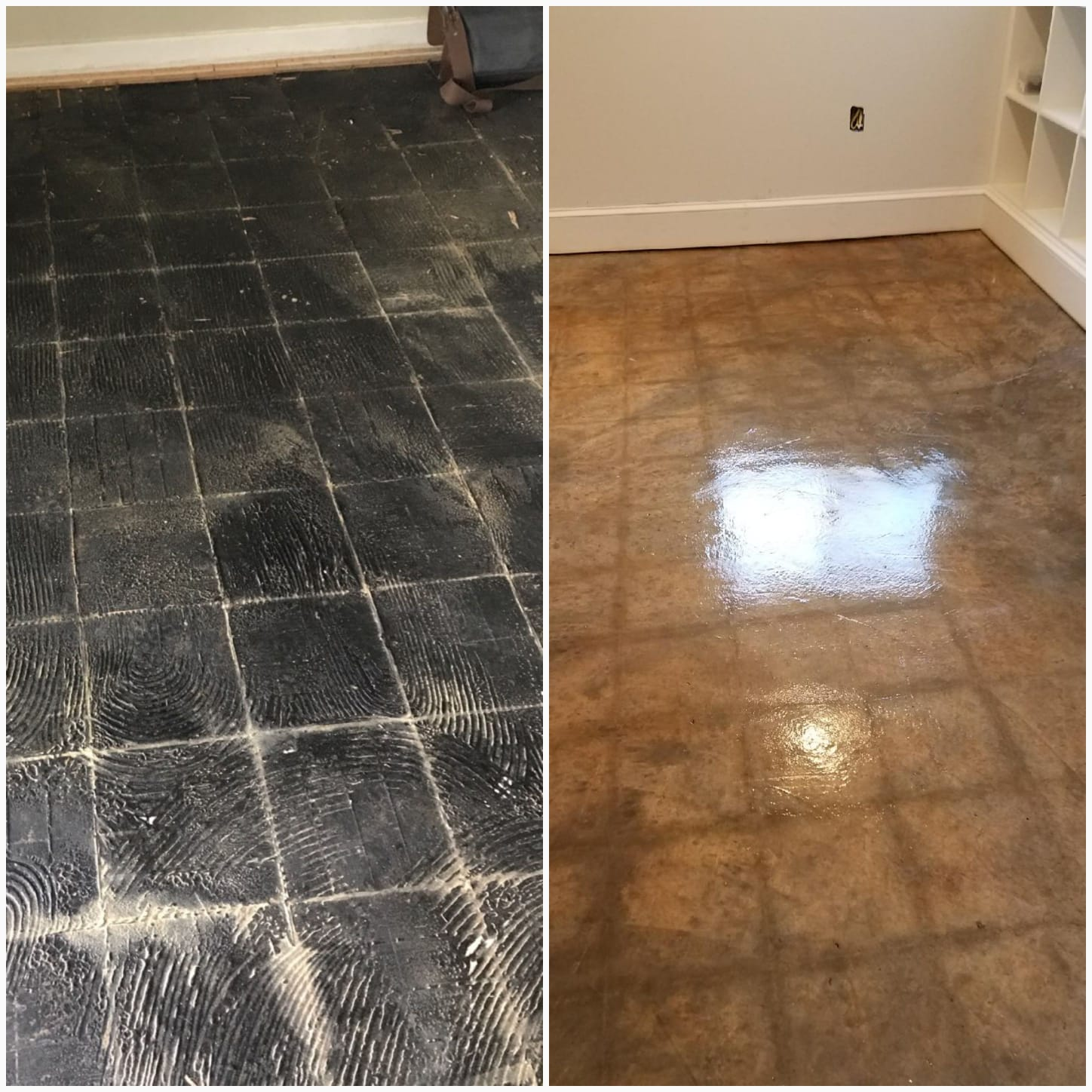 Clean and Wax Concrete